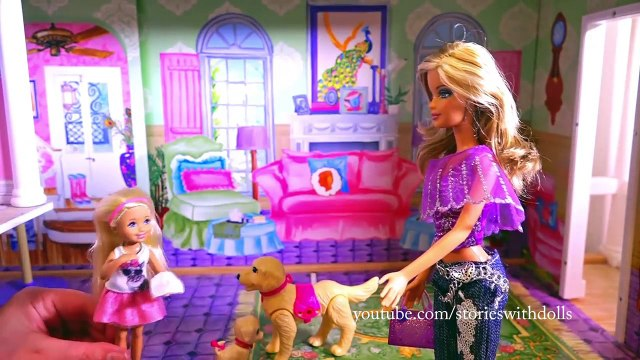 Barbie Toys - Chelsea and the Lost Grocery List - Barbie Supermarket Unboxing and Toy Review