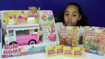 NEW Num Noms Series 2 Lip Gloss Truck New Num Noms 5 Packs DIY Lip Gloss Toy Review