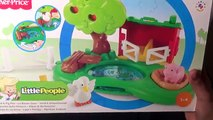 Farm Toys Animals Toys Assembling for Fun- Kids Animal Farm House with Pool & the Muddy Puddles
