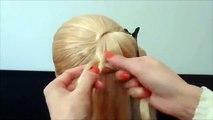 Einfache Frisuren Haare Zopf Mal Anders Flechten Hochsteckfrisur