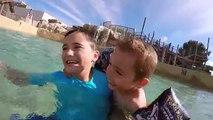 VLOG - Incroyable Toboggan Aquatique ! Parc Aquatique Océanile - 1/3