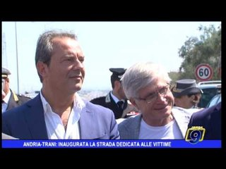 Andria - Trani: Inaugurata la strada dedicata alle vittime