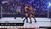 FULL MATCH — Batista vs. JBL - World Heavyweight Title No. 1 Contender's Match WWE No Mercy 2008