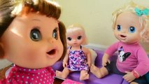 Baby Alive Molly Is Turned Into A LIVING Doll! - Baby Alive Comes To Life!