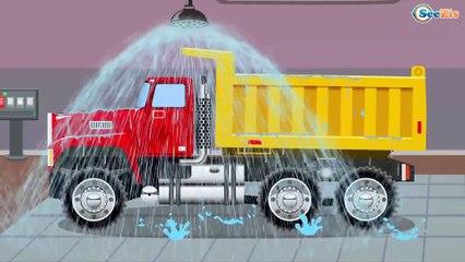 Coches - Carros para niños - el Pequeño Camión - Camiónes infantiles - Aprender colores