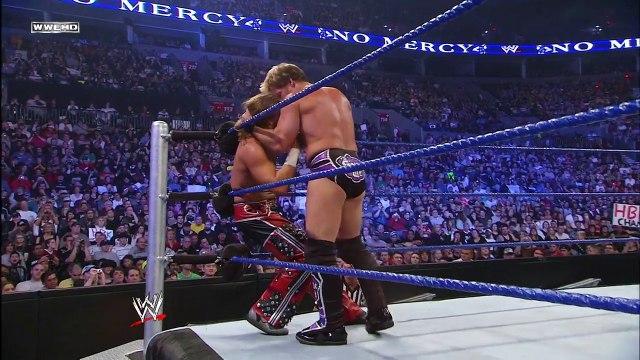 FULL MATCH —Chris Jericho vs. Shawn Michaels - World Heavyweight Title Ladder Match- No Mercy 2008 USA SPORTS