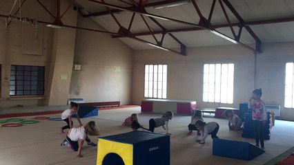 Cours babys gym