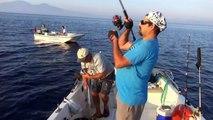 antenli mercan avı kuşadası balık delisi ile yemli antenli avı