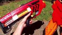 Nerf Rival Khaos Vs. Nerf Rival Zeus (Full Auto or Comp Semi?)