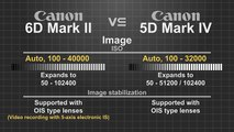 Canon EOS 6D Mark II vs Canon EOS 5D Mark IV MUST WATCH BEFORE BUYING ANY CAMERA