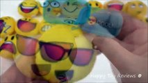 2016 McDONALDS EMOJI MOVIE PLUSH HAPPY MEAL TOYS SMILEY SMILES SET 16 SMILIES KIDS COLLECTION USA