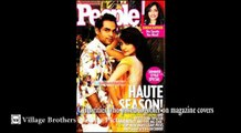 Celebrities who posed together on magazine covers