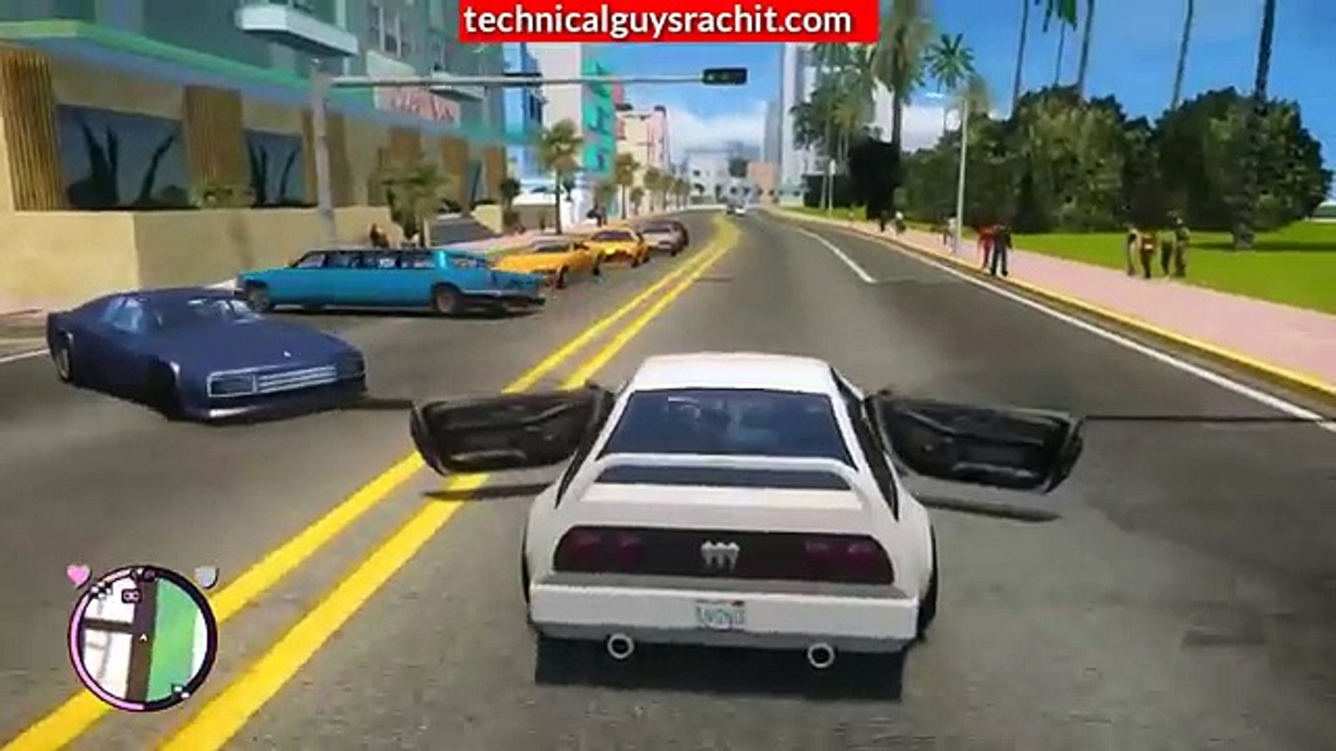 GTA Vice City Android- Install Ultra ENB Graphics Modern Mod in Android