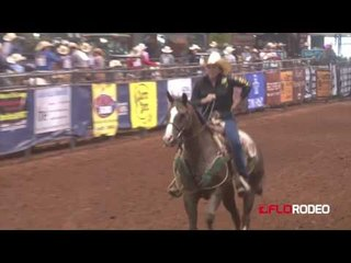 lena Johnson 2.62 Breakaway at National Little Britches Finals 2017