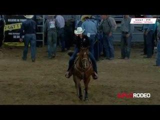 Kelli Valdez 2.6 run at International Finals Youth Rodeo 2017