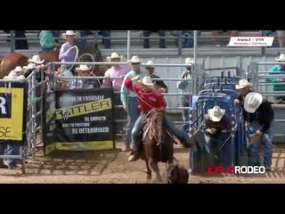 Chance 8.6 run calf roping at International Finals Youth Rodeo 2017