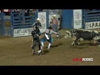 Stetson Wright Bull Ride at Short Go IFYR 2017
