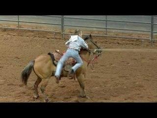Ribbon Roping at the American Junior Rodeo Association