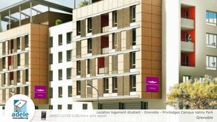 Location logement étudiant - Grenoble - Privilodges Campus Valmy Park