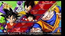 Descargar Dragon Ball Z shin Budokai 4 latino Para Android/Personajes De Dragon Ball Super|2016