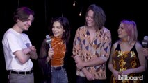 Hey Violet Talk Success of 'Hoodie,' Their Fans, Adjusting to Band Member Leaving Group | iHeartRadio Music Fest 2017