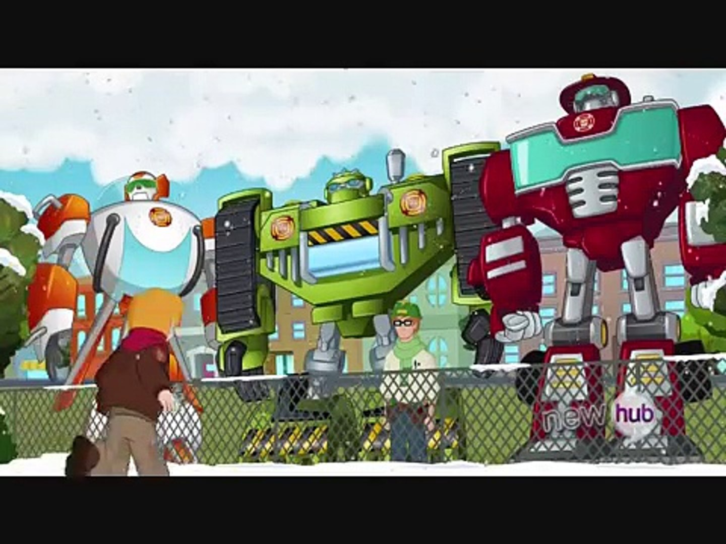 Last Christmas. with the Rescue Bots