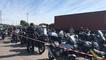 Des centaines de motards normands mobilisés