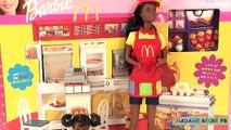 Barbie Jouets Restaurant McDonalds Accessoires Poupées McDo