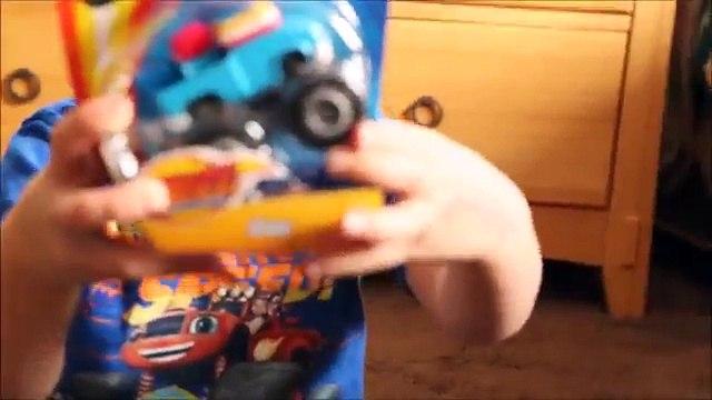 New Blaze Toys! Joe & Gus! Blaze and the Monster Machines!