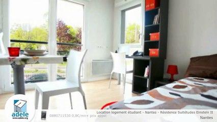 Location logement étudiant - Nantes - Résidence Suitétudes Einstein II