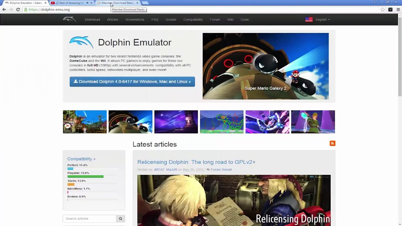 How To: Get Super Mario Galaxy 2 Free PC Using Dolphin [MAY new]