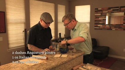 Manhattan Cocktail - Home Bar Basics with Dave Stolte - Small Screen