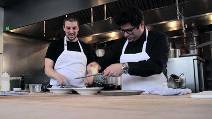 Chef Chris DiMinno - Clyde Common - Hanging with Harris - Small Screen