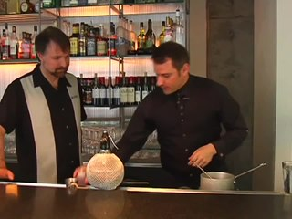 Molecular Mixology - Aviation Cocktail with Jamie Boudreau - The Cocktail Spirit with Robert Hess