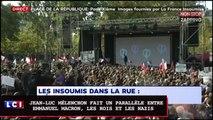 Jean-Luc Mélenchon fait un parallèle entre Emmanuel Macron, les rois et les nazis (vidéo)