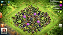 Clash of Clans - Best TH9 Hybrid War Base Layout