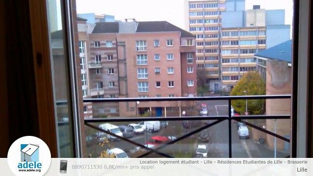 Location logement étudiant - Lille - Résidences Etudiantes de Lille - Brasserie