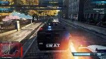 NFS Most Wanted new: S.W.A.T Armored Van Pro Mods   Most Wanted List #5 Porsche 918 Spyder