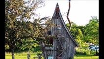 Des petites maisons de contes de fées et en plus 100% écologiques. Le rêve