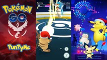 POKÉMON GO GYMS Cleffa, Togepi vs Jigglypuff & Pikachu Holiday
