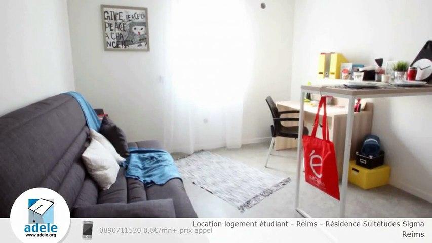 Location logement étudiant - Reims - Résidence Suitétudes Sigma