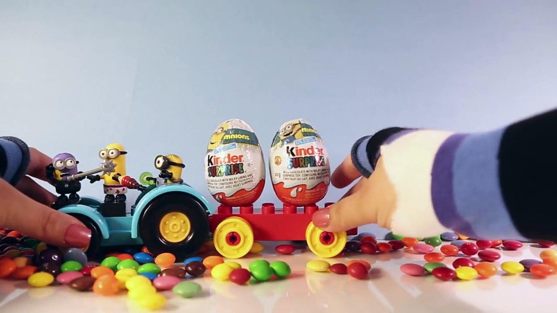 Surprise Eggs Disney Minion Kinder Egg Unboxing ♥♥