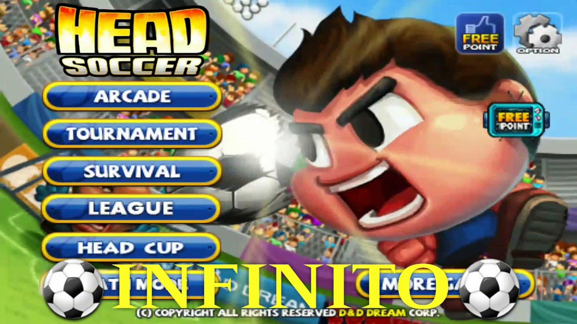 Head Soccer v5.0.7 INFINITOS Pontos