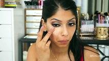 Kylie Jenner Inspired Makeup | Sparking Smokey Eyes | Arshias Makeup