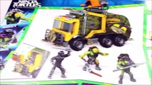 Mega Bloks Battle Truck Teenage Mutant Ninja Turtles Out of the Shadows w/ Donatello & Michelangelo