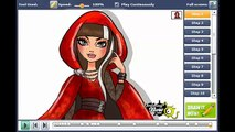 How to draw Cerise Hood the daughter of Little Red Riding Hood from Ever After High