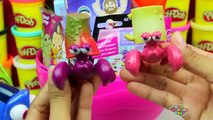 GIANT DORY Surprise Egg Play Doh - Finding Dory Nemo Ariel My Little Pony Littlest Pet Shop Toys