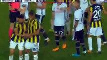Fenerbahçe - Beşiktaş 2 - 1 Geniş Özet (5 KIRMIZI KART)