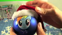 Bins New Christmas Ornaments! Monster High & My Little Pony Rainbow Dash! Review by Bins Toy Bin