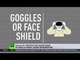 Ebola Protection: Most hazardous stage is taking off Hazmat suit